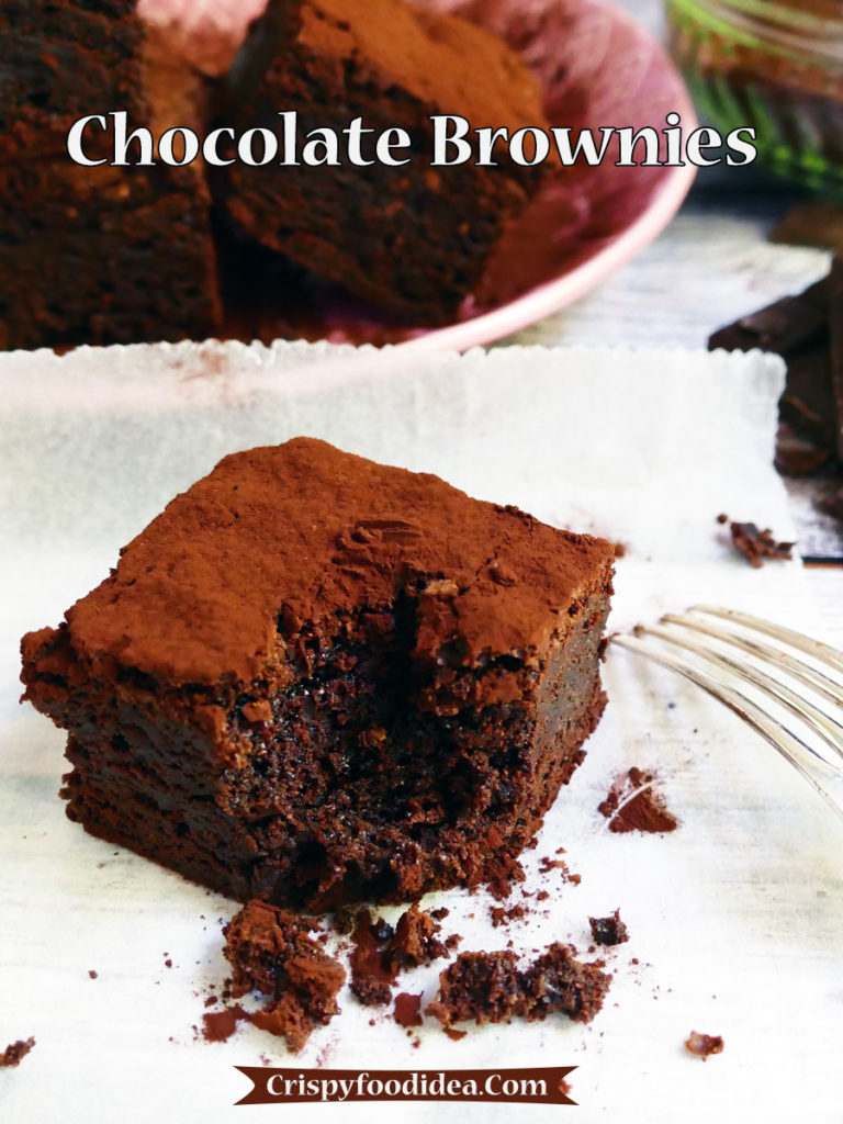 Egg Chocolate Brownies Recipe - Mother's Day Dessert Recipes