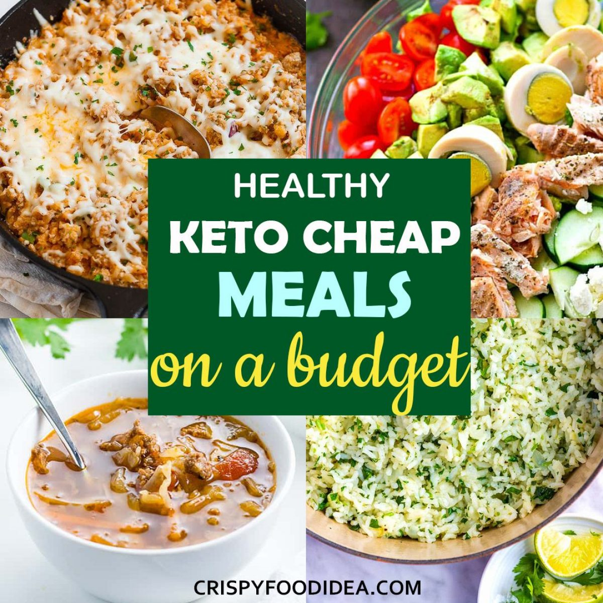 Easy Cheap Keto Meal Recipes You Can Get On A Budget