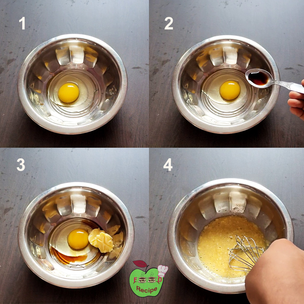 Egg Mixture of the Cookies