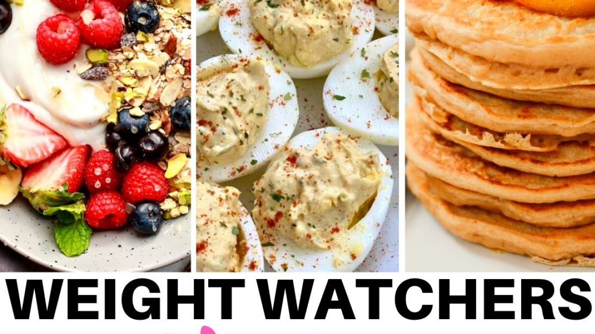 21 Healthy Weight Watchers Breakfast Recipes With Points